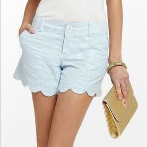 Lilly Pulitzer Buttercup Scalloped Shorts 4